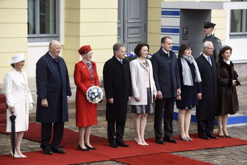 GALERII | Põhjamaade riigijuhid kohtusid Helsingis