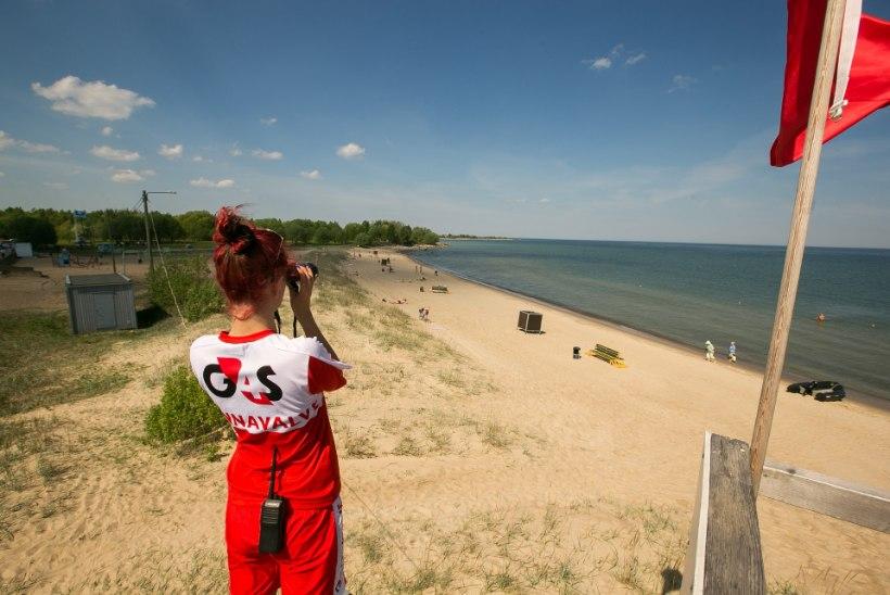 SUPLE OHUTULT: loe, millistes randades tagavad ohutuse vetelpäästjad