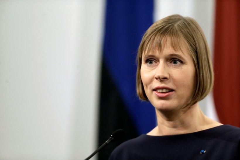 President Kaljulaid kohtub juuli algul president Trumpiga