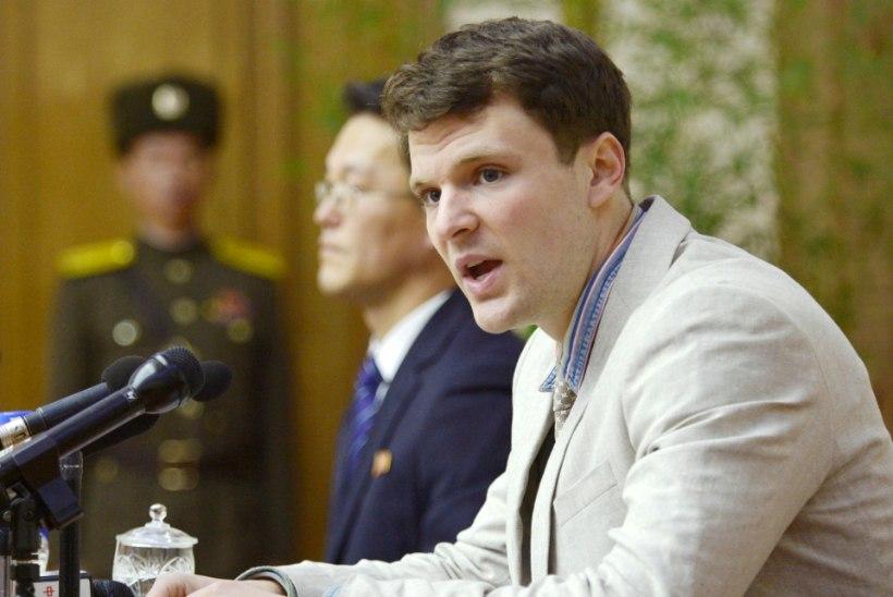 Suri Põhja-Korea vanglast vabastatud USA tudeng
