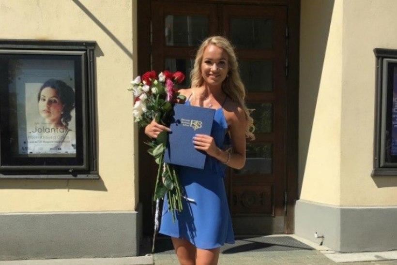 PALJU ÕNNE! Sõnajalgade tütar Roose Maria lõpetas ülikooli