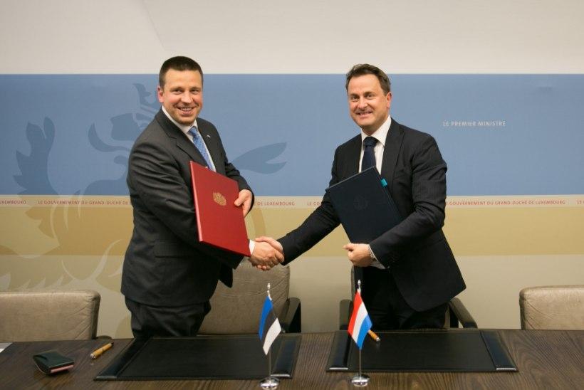 Eesti loob Luksemburgi maailma esimese andmesaatkonna