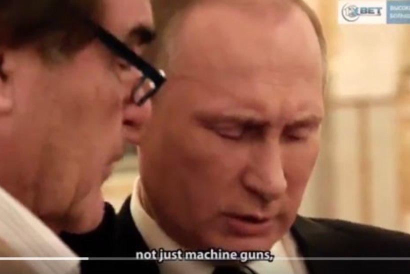 Venemaa kaitseministeerium seadis Putini piinlikku olukorda