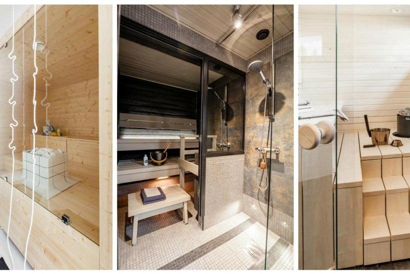 8 huvitavat ja modernset saunavaadet
