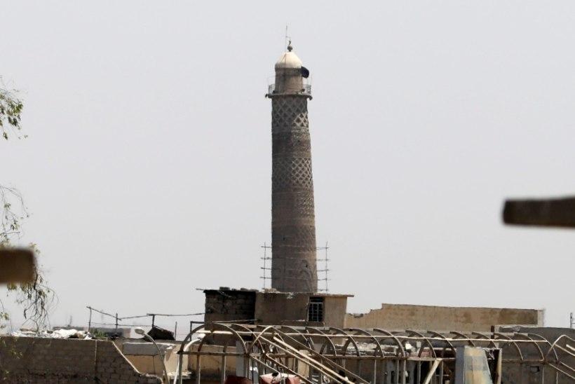 """Iraagi peaminister Mosuli mošee hävitamisest: """"See on ISISe teadaanne kaotusest!"""""""