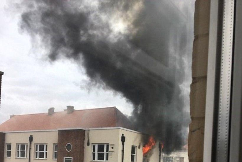 Paanika Londonis: jälle suur tulekahju elumajas