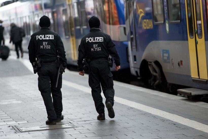 Purjus huligaanid läksid Saksamaal politseinikutele kallale