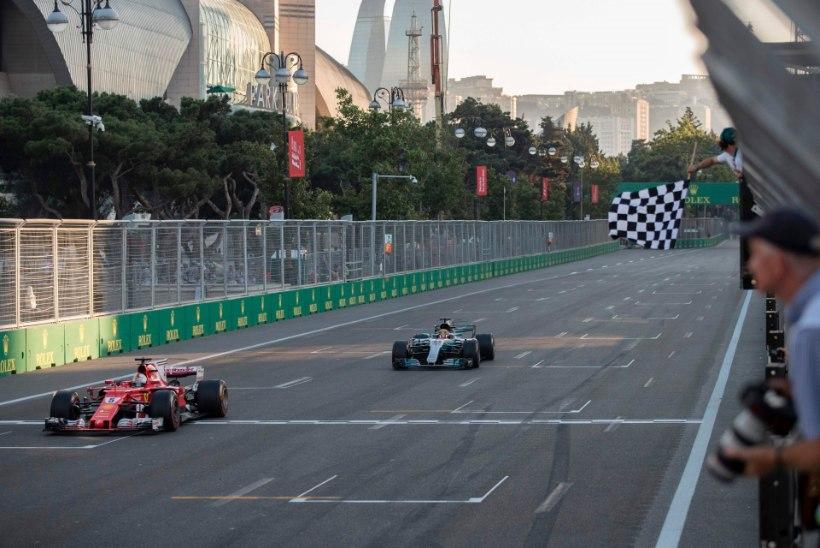 Hamilton nimetas Vettelit rammimise tõttu häbiplekiks