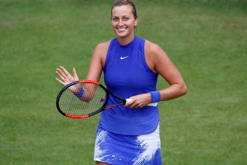 Pussitamisest taastunud tenniseäss on taas tipus