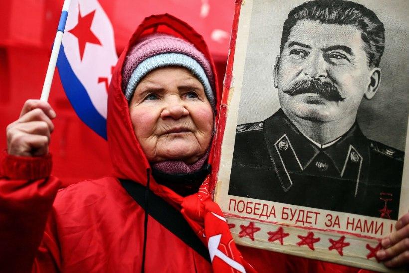 Venelased peavad väljapaistvaimaks inimeseks Stalinit