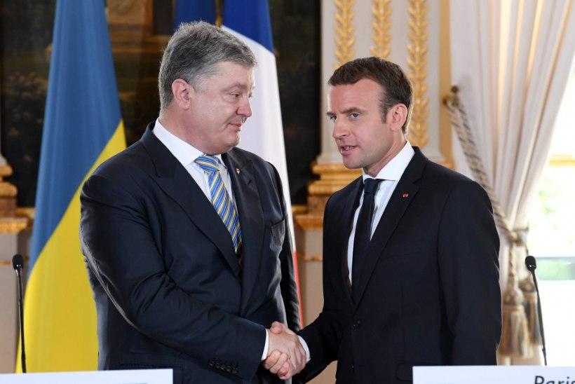 Macron ei tunnusta Krimmi okupeerimist