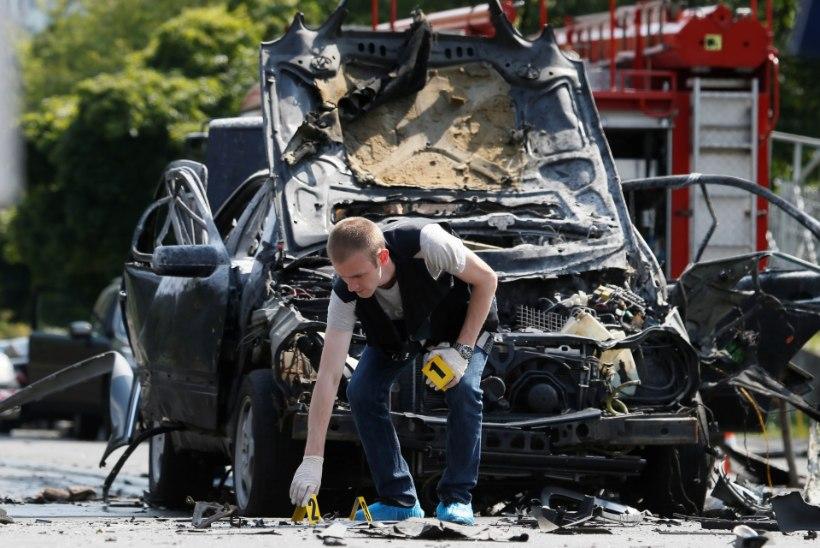 TERROR KIIEVIS: autopomm tappis luureohvitseri