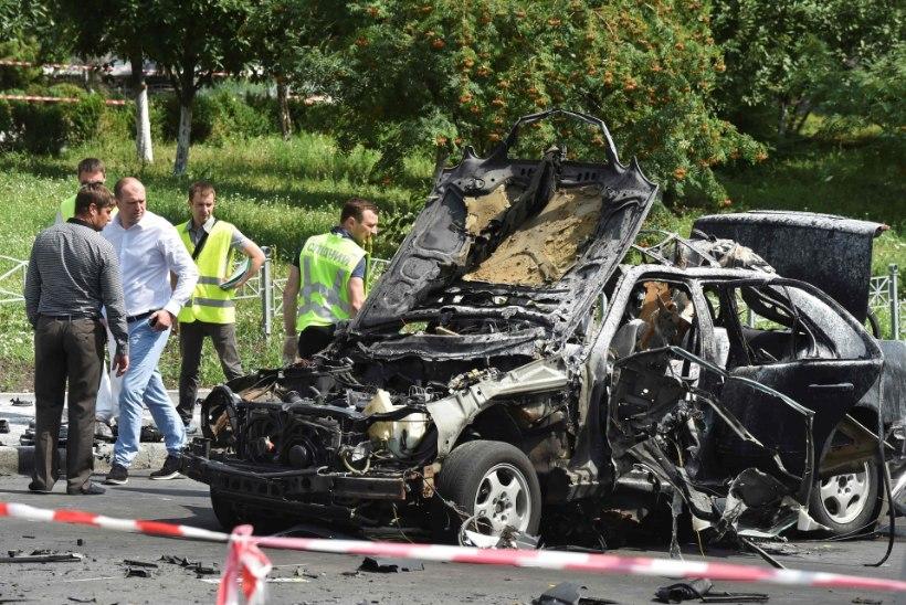Rahutu päev Ukrainas: küberrünnak ja autopomm Kiievis