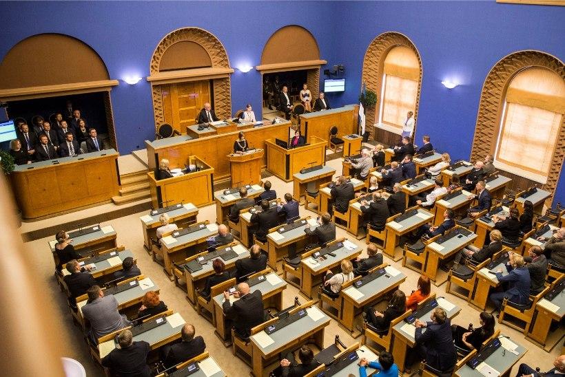 Riigikogus tähistatakse põhiseaduse rahvahääletuse 25. aastapäeva