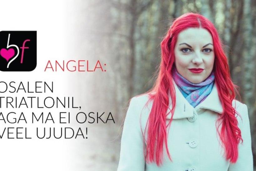Angela Ausna: kavatsen osaleda triatlonil, aga ma ei oska ujuda!