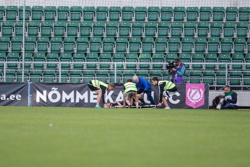 PAHA! Euromängust kanderaamil lahkunud Kalju ääremängija jääb nädalateks palliplatsilt eemale