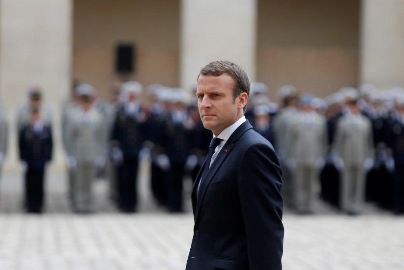 Macron murrab Bastille' päeva traditsiooni, jättes ära iga-aastase pressikonverentsi