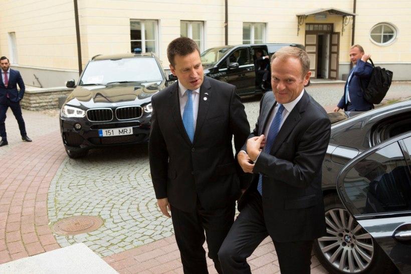 Ratas arutas Euroopa Ülemkogu eesistuja Tuskiga poolaasta plaane