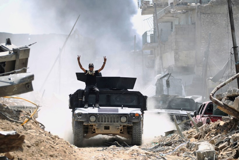 Iraagi sõjavägi võitis Mosuli kesklinna ISISelt tagasi