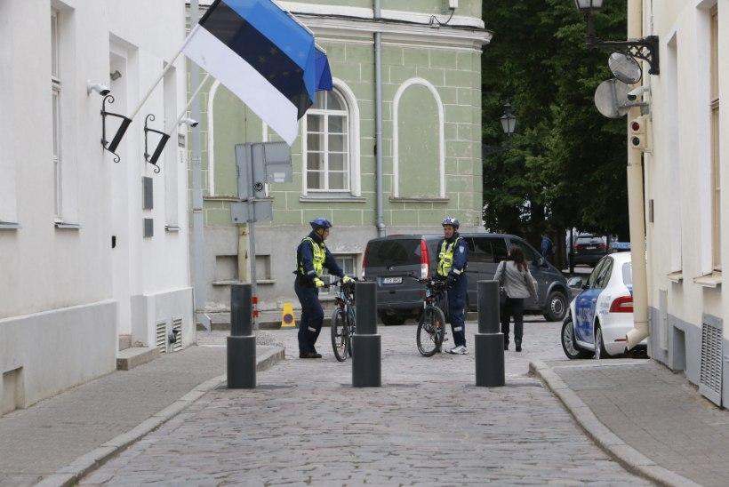 GALERII | Eesistumise pidustustele saabunud Jean-Claude Juncker kohtus Jüri Ratasega