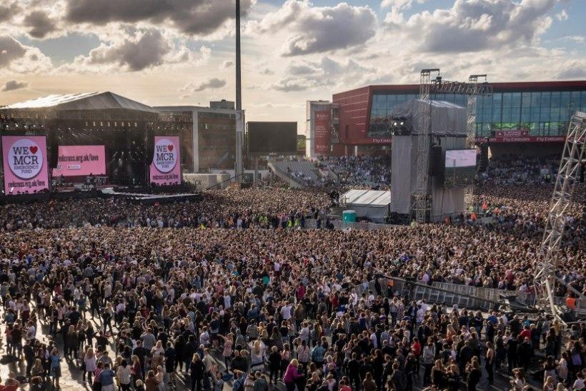 GALERII   Täna õhtul toimub Manchesteris heategevuskontsert