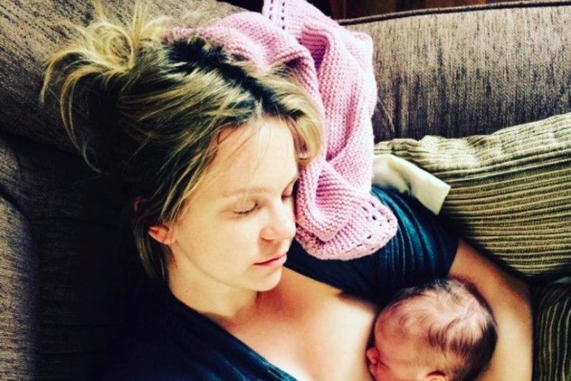 Marilyn Jurman avaldas endast ja beebist väga intiimse foto