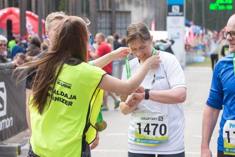 Tee rohkem sporti! Soovitab president Kaljulaid oma mehele