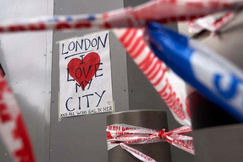 KANGELANE: rumeenlasest pagar virutas London Bridge'i terroristile kastiga pähe