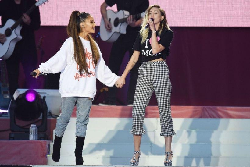 TUBLI TÖÖ: Ariana Grande heategevusliku kontserdiga koguti suur summa terroriohvritele