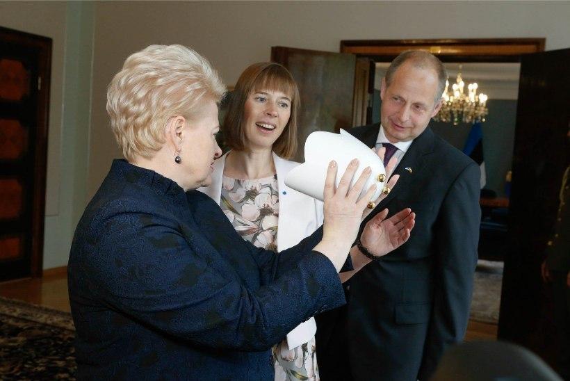 GALERII | LEEDU PRESIDENT EESTIS | President Kaljulaid soovitas oma mehel rohkem sporti teha