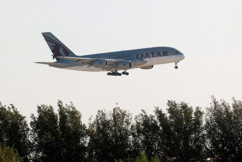 Diplomaatiline kriis Katariga mõjutab ka rahvusvahelist lennuliiklust