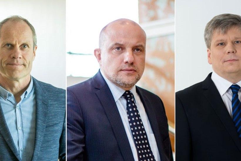 Uuteks IRLi ministriteks võivad saada Tõniste, Luik ja Kiisler?