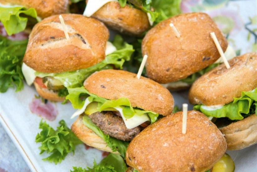 Mahlased miniburgerid