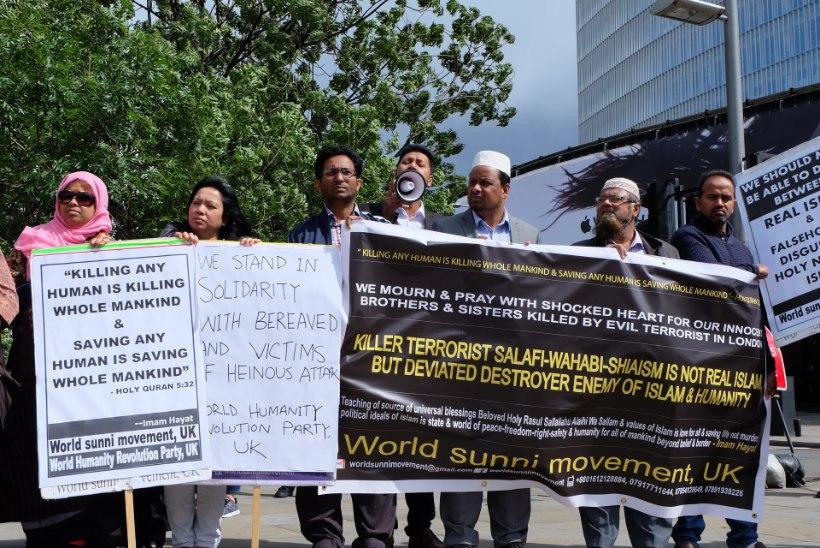 ÕL LONDONIS | VIDEO + GALERII | Muslimite miiting Londoni sillal: islam pooldab rahu, terroristidel pole meie usuga mingit seost