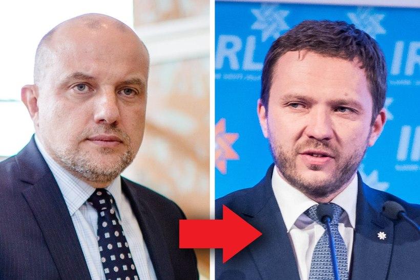 IRL-I VANGERDUSED: eestseisus kinnitas kolm uut ministrit