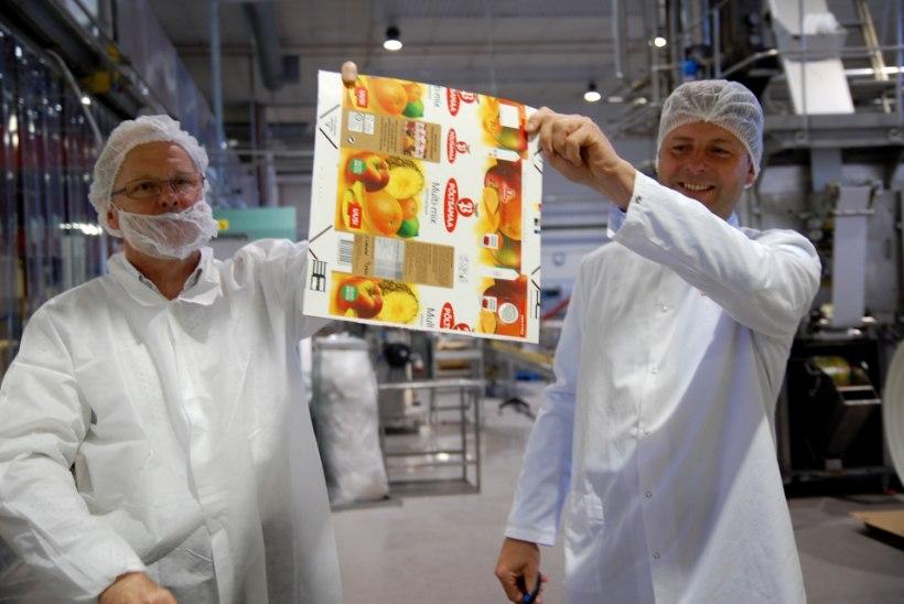 Põltsamaa Felix suurendab mahlatoodangut aastas seitsme miljoni liitri võrra
