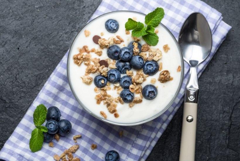 Eriti tervislik jogurtihommikusöök
