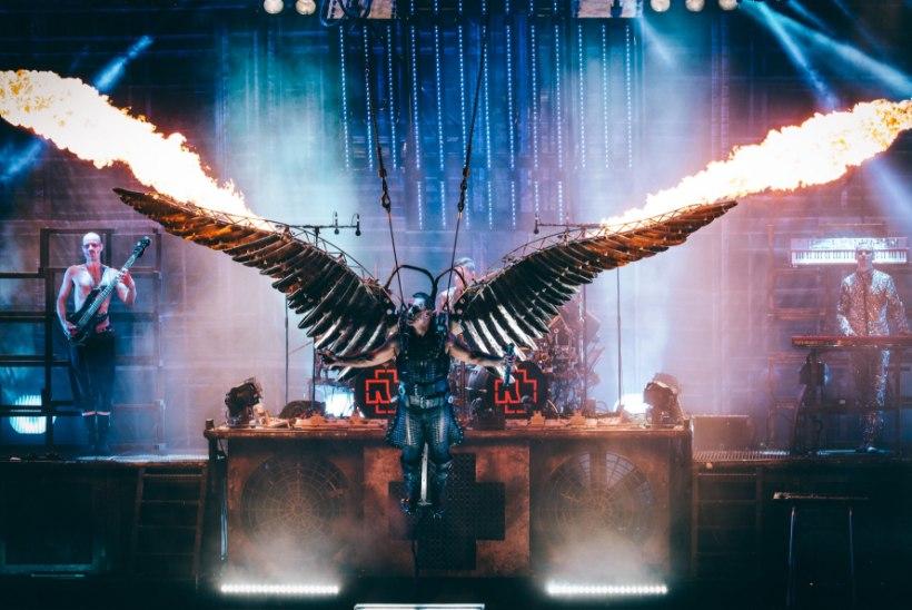 LEEGID JA MÜRTS! Rammstein kasutab kontserdil tule ja paugu tegemiseks 120 kilogrammi pürotehnikat
