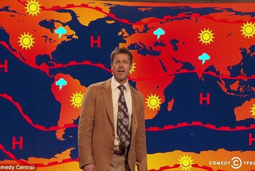 VIDEO: Brad Pittist sai seksikas ilmapoiss!