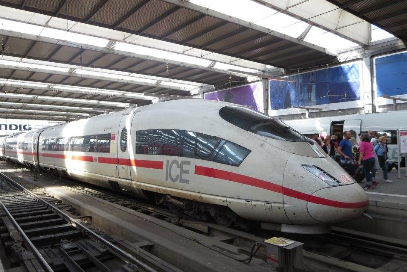 Kodutu 25aastane sakslane ööbib rongides