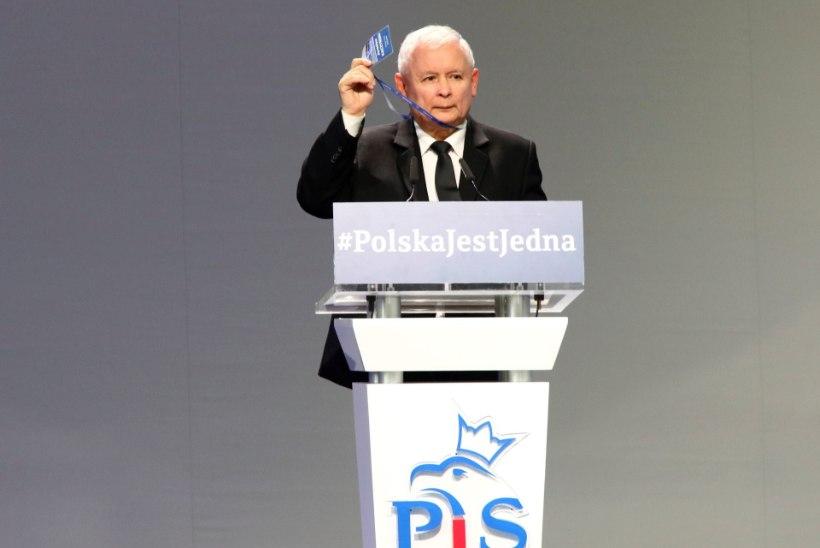 """Kaczyński: Poolal on õigus öelda põgenikele """"EI"""" !"""
