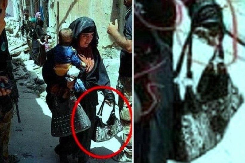 FOTO   Enesetaputerroristist naine lasi end õhku koos sülelapsega