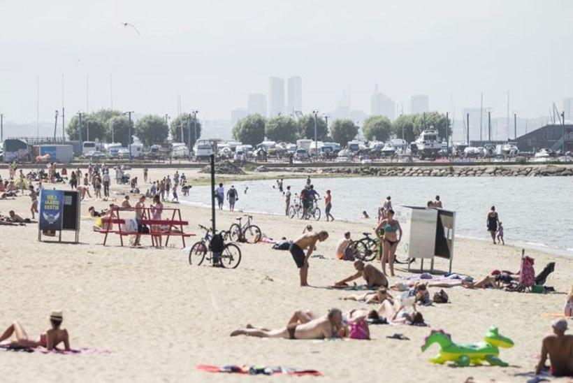 Hoolimatu jalgrattur sõitis rannas üle väikelapse, tundmata huvi, kui tõsiselt laps viga sai