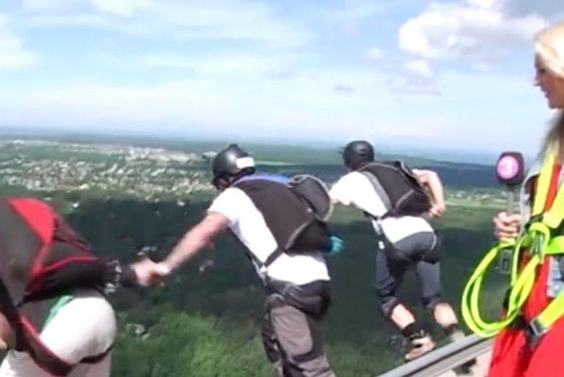 TV3 VIDEO   Taevast sadas mehi! Teletorn tähistas sünnipäeva erakordse vaatemänguga