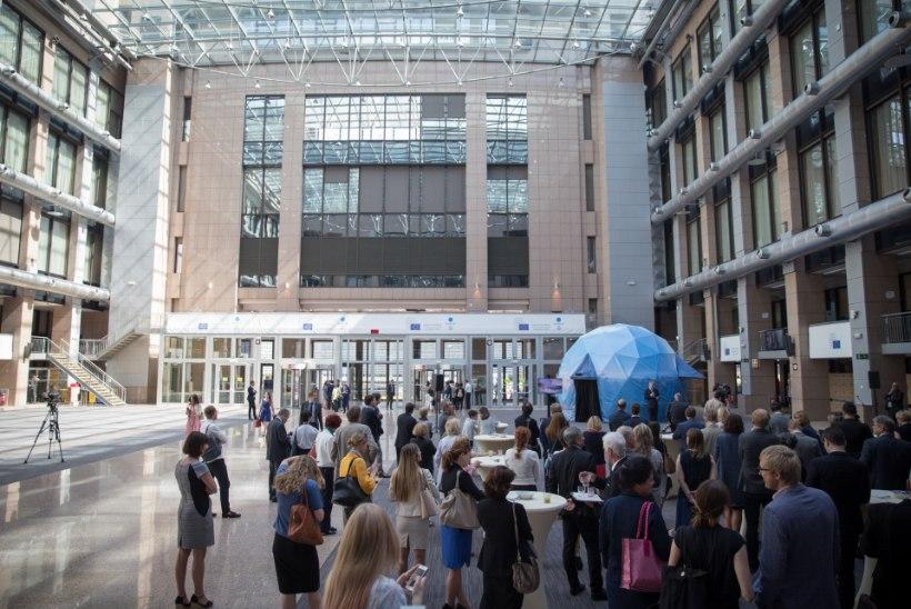 Eesti eesistumise nutikas digidisain jõudis EL nõukogu peahoonesse