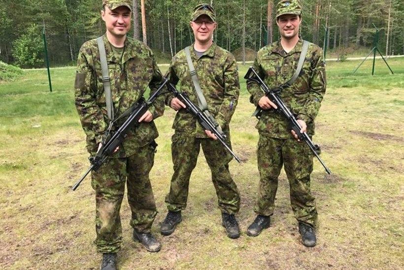 FOTO | Taavi Rõivas käib kaitseväe reservohvitseride kursusel