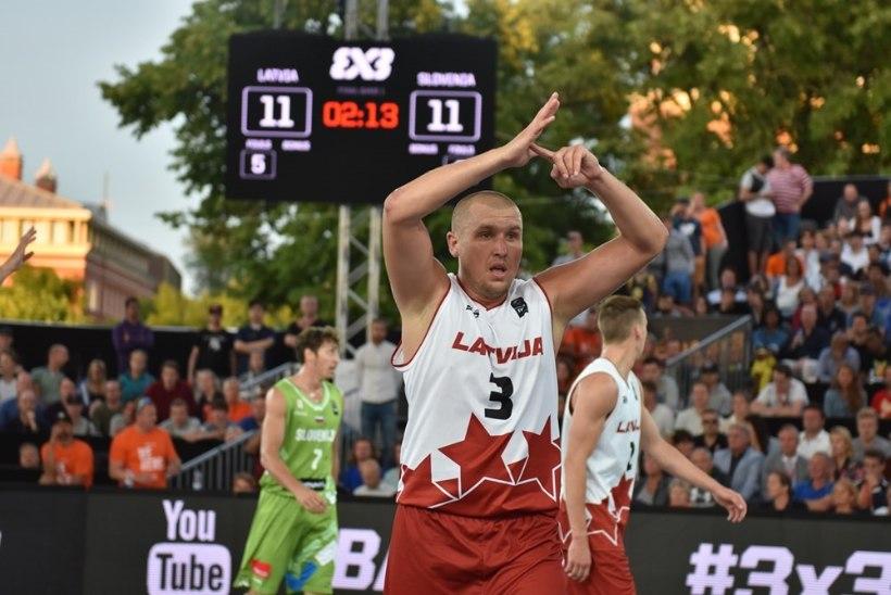 VIDEO   Tunamullu Valga korvpallimeeskonnas pallinud mängumees tuli Lätiga Euroopa meistriks