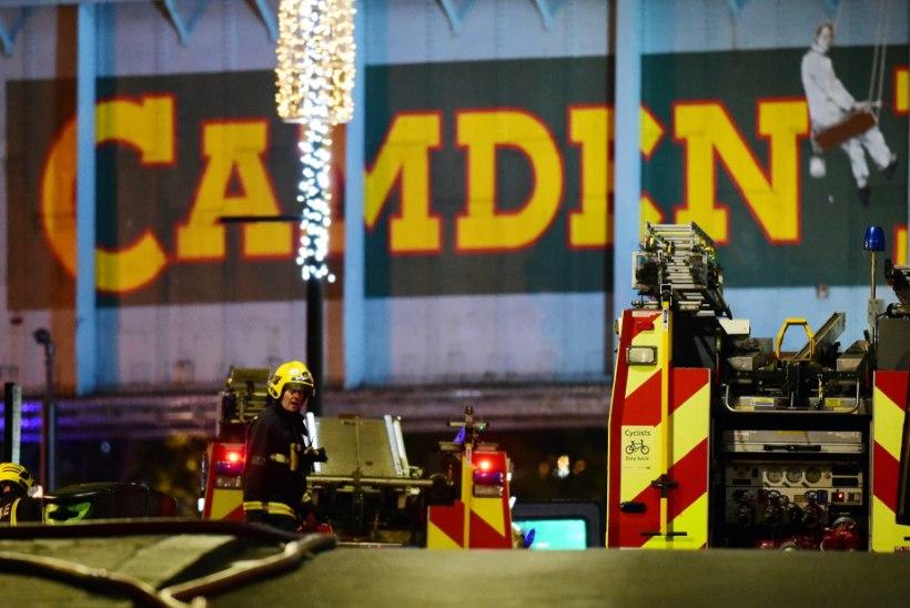 FOTOD | Londonis asuvas populaarses Camden Marketis puhkes tulekahju