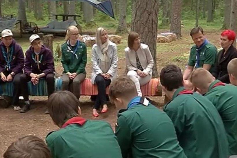 TV3 VIDEO | President väisas Järvamaal skautide suurlaagrit