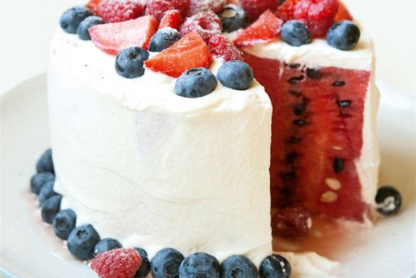 Kuidas valmistada torti arbuusist?